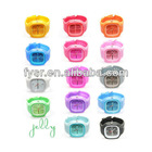 2013 Fahional & colorful silicone jelly watch
