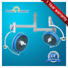 ISO CE approved ceiling double head 700/500 Shadowless LED operating light