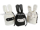 Small Cotton Rabbit Drawstrng Gift Bag
