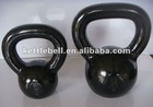 Smooth surface cast iron kettlebell