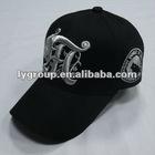 100% cotton flat embroidery twill 6 panel baseball cap ,5 panels baseball cap with embroidery and printed logo