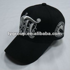 100% cotton flat embroidery twill 6 panel baseball cap ,5 panels baseball cap with embroidery and printed logo