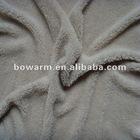 Plain shu velveteen knit material for toys
