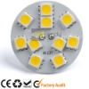 AC/DC10-25V G4 10SMD led flat Disc Lamp, marine light