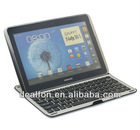 Aluminium Alloy Bluetooth Keyboard for Samsung Galaxy Note 10.1 N8000