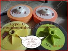 "Sponge Pad 6"" (Buffing Pad) ( wax pad) (Compound Pad) (Polishing Pad) Wholesale & Retail"