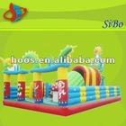 GMIF-31 crayon inflatable bounce house,baby fun house,inflatable cartoon bounce house