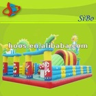 GMIF-31 crayon inflatable bounce house,baby fun house,inflatable cartoon bounce house