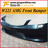W221 S65 AMG Body Kits Front Bumper For Mercedes