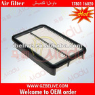 Auto part for TOYOTA air filter 17801-16020-83
