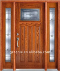 Oak Exterior Wood Door