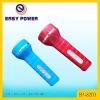 LED Plastic flashlight