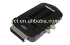 DVB-T Mini scart box TV receiver
