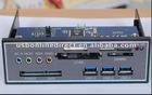 multifunction USB 3.0 card reader+3 ports HUB+SATA