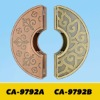 Luxurious brass door handle CA9792A&B