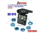 "HD DVR with 2.5"" TFT LCD Screen,270 degrees switchable screen,Recording Automatically"
