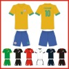 breathable polyester soccer shirt
