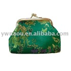 fashion Ladies satin Coin wallet purse