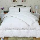 king size 100% cotton white down feather duvet