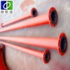 China best manufacturer of rubber lining pipe