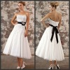 N071 Free shipping new design sexy short wedding dresses 2012
