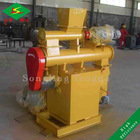 High pellet density flat die cotton straw pellet machine