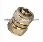 Compression fitting, Equal Straight