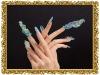 Coloured drawing nail polish
