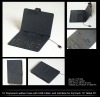 "10"" keyboard leather case with USB cable and interface for flytouch 10"" tablet PC"