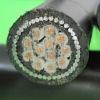 CU(AL)CORE PVC INSULATED PVC -SHEATH FIRE RESISTANT power CABLE