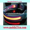 Colorful Nylon LED Dog Night Safety Collar Flashing Light Up Pet Collar SL00174Q