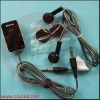 Mobile Phone stereo earphone HS-45+AD-54