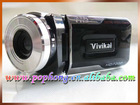 (DV002) 8 * telescope 3.0inch 5.0 Mega CMOS MP3 and MP4 telescope camcorder wholesaler