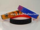 custom promtional silicone bracelet