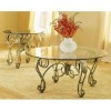 wrought iron craft table cj018