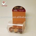 custom acrylic toast storage food box FZ-FTB111