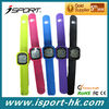 Digital g sendor Silicone Pedometer Watch