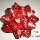 Holographic Star Bow for gift packaging