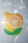 freshener card/paper with fragrance/hanging air freshener