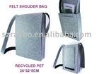 Recycled PET felt bag