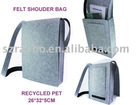 Recycled PET felt bag
