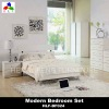 2012 Modern gloss bedroom furniture(White Colour)