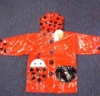 PVC Material Kids Raincoat