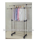 2012 hot sale multi-purpose stainless clothes tree