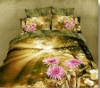 40X40/133X72 100% Cotton Reactive High quality Printing,Scenery Designs Bedsheet Set