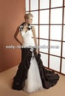 2013 hot sell halter neck sweetheart neckline lace-up back bridal wedding dress OLW1477