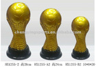FOOTBALL/SOCCER BALL RESIN TROPHY/HX1255