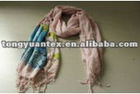 2012 fashion printed cotton scarf