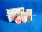 3pc/set remote control wax LED candle