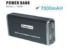 hot sale 2012 new mini power bank with 7000mAH capacity